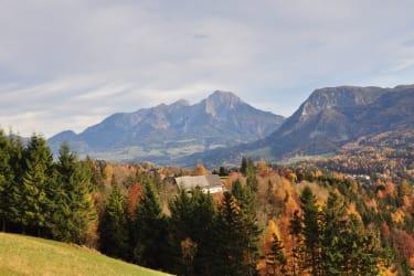 Herbstwanderung in den OÖ, Kalkalpen