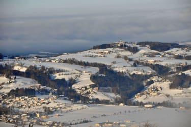 Wallfahrtskirche Magdalenaberg im Winter
