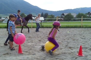 Reiten Pferde Urlaub Bio Hof zu Steinern