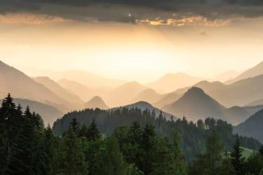 Windischgarstner Tal am Abend