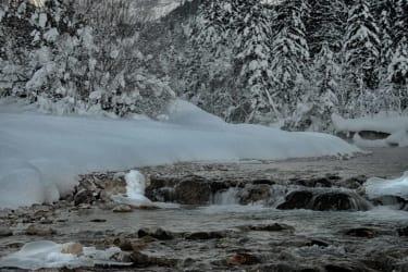 klirrend kalter Wintertag