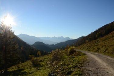 Mountanbikestrecke - Höhenrunde
