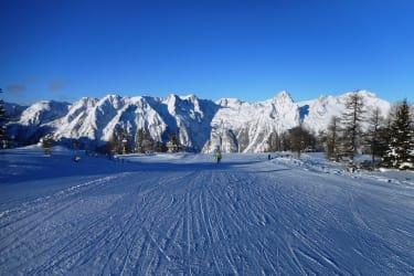 Skifahren auf der Höss in Hinterstoder