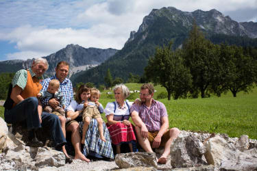 Die Familie am Hof
