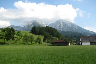 Berglandschaft Ferienhof Hotz