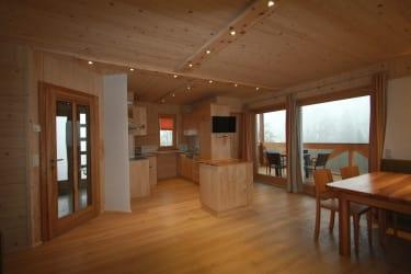 Wohnküche mit Loggia UG