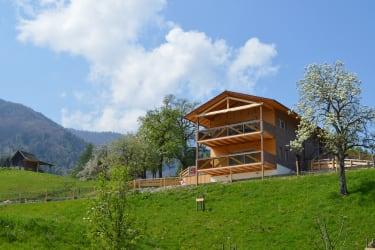 neu erbautes Öko-Ferienhaus