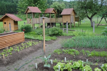 Garten Hochbeet