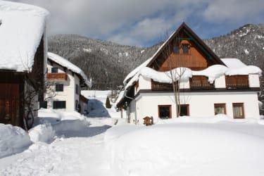 Der Mittermairhof Südansicht Winter