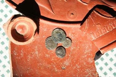 Relikte aus der Römerzeit in unserem kleinen Hausmuseum