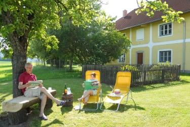 Ruheplatzerl beim Naschgarten