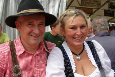 Gastgeber Camilla und Josef