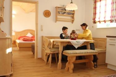 Ferienwohnung Himmelsblick - Wohnküche