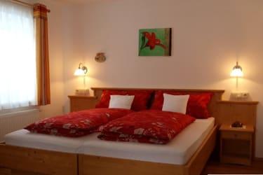 Ferienwohnung Kräutergarten - Schlafzimmer