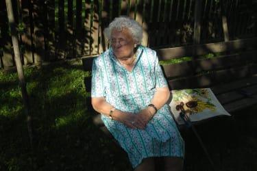 Unsere Oma - Altbäuerin Frieda