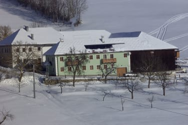 Biohof Stadlbauer im Winter