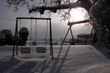 schöne Wintertage am Bauernhof Simader