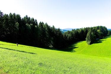 die Landschaft um unseren Bauernhof