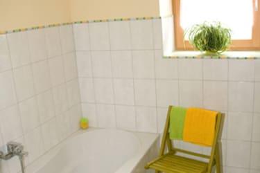 Badezimmer Glockenblume