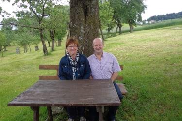 Gastgeber Ewald und Johanna Lang