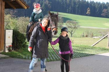 Pferd Reiten
