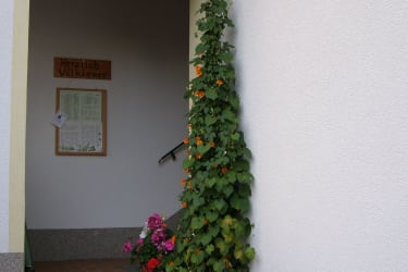 Aufgang Obstgartenwohnung