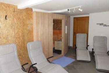 Saunabereich im Bauernhaus