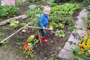 Gartengehilfe