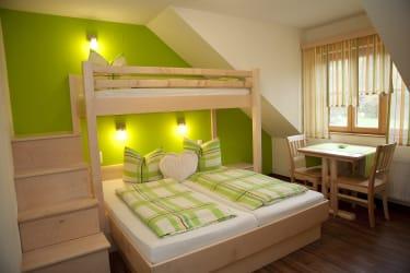 Schlafzimmer der FW