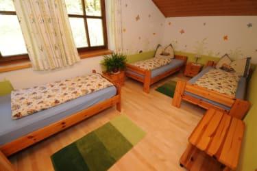 Ferienwohnung Finkenkobel Kinderzimmer