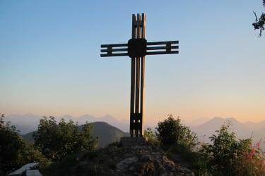 Gipfelkreuz auf der Ennser Hütte