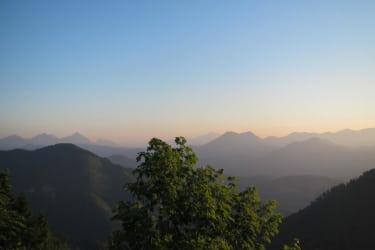 Blick auf den Nationalpark Kalkalpen