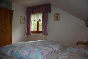 Schlafzimmer Ferienwohnung NP Kalkalpen