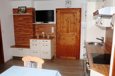 Ferienwohnung Kalkalpen Küche