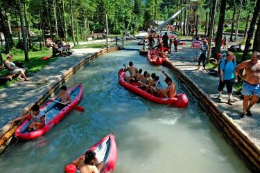Der Wasserspielpark ist bei unseren jungen Gästen das absolute Action-Erlebnis-Highlight