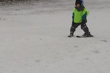 Skifahren auf der Forster Alm
