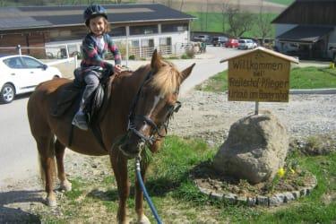 Teiterin Flora mit Pferd  Bella