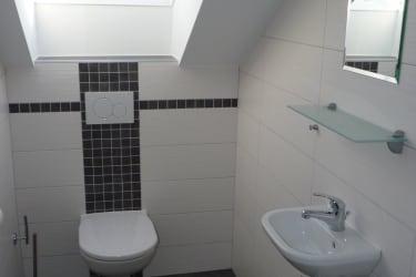 Ferienwohnung Kaminfeuer - WC