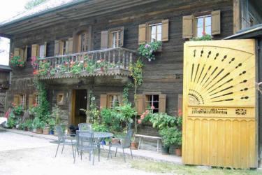 Bauernhaus Hofseite