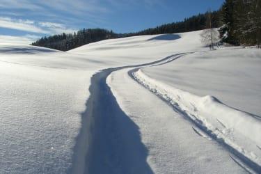 Schneespuren