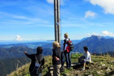 Wanderung auf den Faistenauer Schafberg