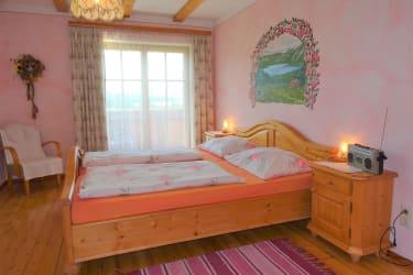 Rose Schlafzimmer