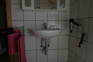 Badezimmer Ferienwohnung Schwalbennest