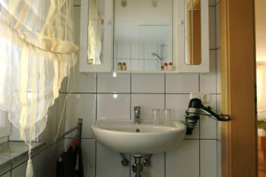 Badezimmer Ferienwohnung Kohlmeise