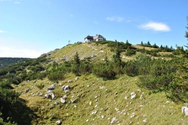 Der Hausberg Hochlecken mit dem Hochleckenhaus