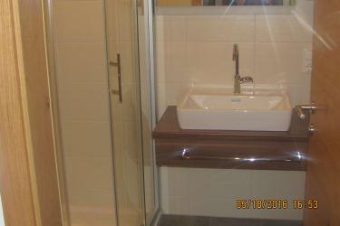 Dusche/WC Doppelzimmer