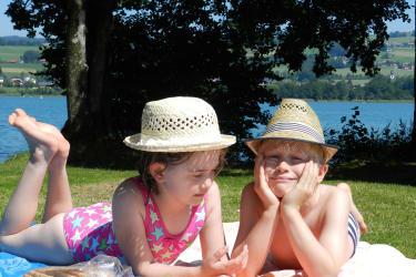 Ein Sommertag am See