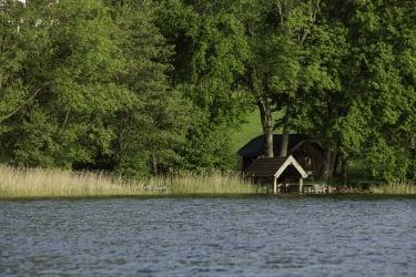 die Bootshütte