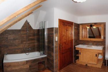 Badezimmer  - Ferienhaus