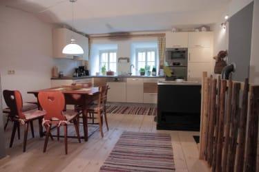 Unsere neue Küche ist komplett ausgestattet